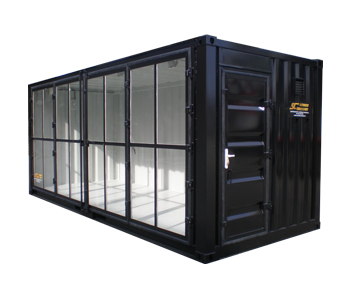 20' display container